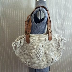 San Diego Hat Company Handbags - NWOT San Diego Hat Co Knit Tote