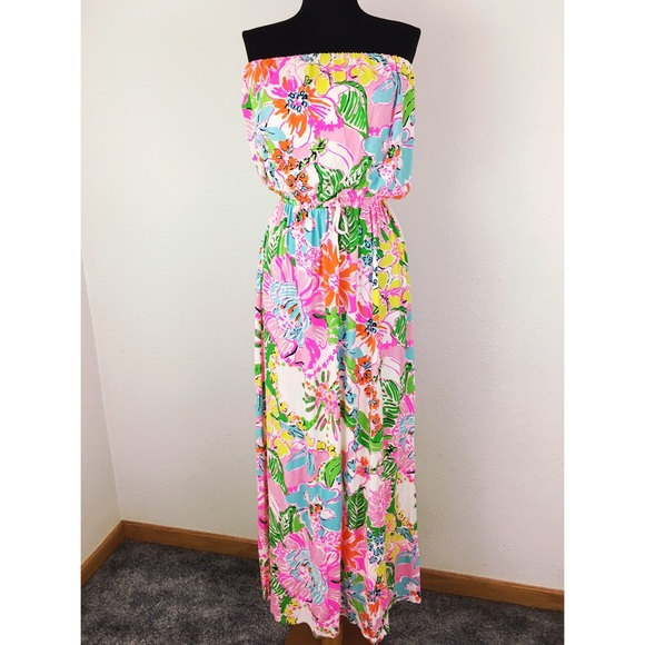 Lilly Pulitzer for Target - Lilly Pulitzer Target Bright & Cheery Maxi Sz L from Bobbi jo s ...