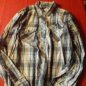 Point Zero Other - Men's long sleeve button up