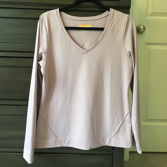 66801c85bb Lucy Tops | Worn Once Tech Long Sleeve Top | Poshmark