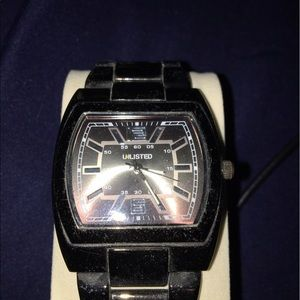 Unlisted Gunmetal Men's Watch