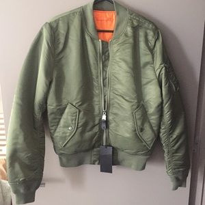 Alpha Industries Other - Alpha Industries MA-1 Bomber Jacket (New)