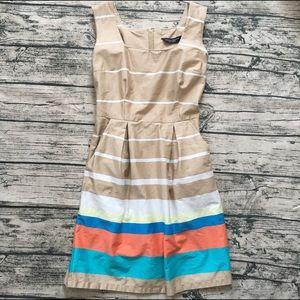 Dorothy Perkins multi-color stripe dress US size 8