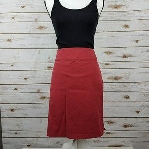 {Banana Republic} Red Pencil Skirt-Size 4
