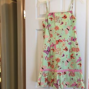 Lilly Pulitzer Butterfly Print Dress