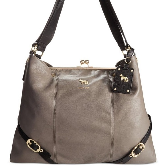 Emma Fox Handbags - Emma Fox Dressage Kiss-Lock Satchel
