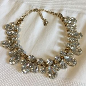 Natasha - Rhinestone Statement Necklace