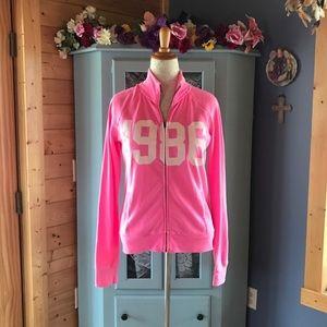 PINK Victoria's Secret Jackets & Blazers - VICTORIA'S SECRET *PINK* Zip Front Jacket