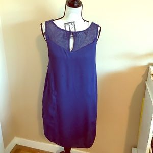 Ella Moss Blue Dress with slip