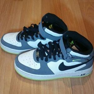 Nike Shoes Air Force 1 Mid Sneakers Big Boys Sz 6 Poshmark