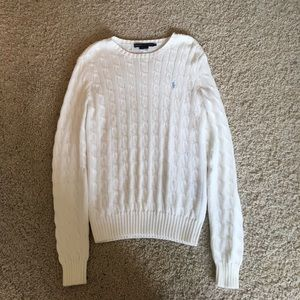White Ralph Lauren sweater