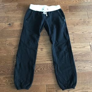 Kings of Cole Pants - Kings of Cole Sweatpants w Leather detailing