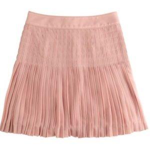J. Crew Dresses & Skirts - J. Crew pleated lattice skirt