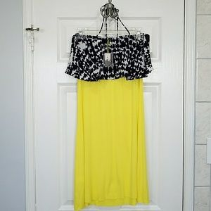 T-Bags Dresses & Skirts - T-bags dress (strapless or halter) -NWT