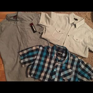 Zoo York Other - Men's button up bundle