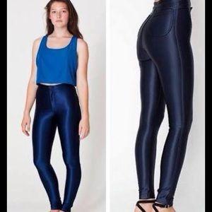 American Apparel Pants - American Apparel Navy Disco Pants