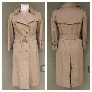 Burberry vintage 80s trench coat