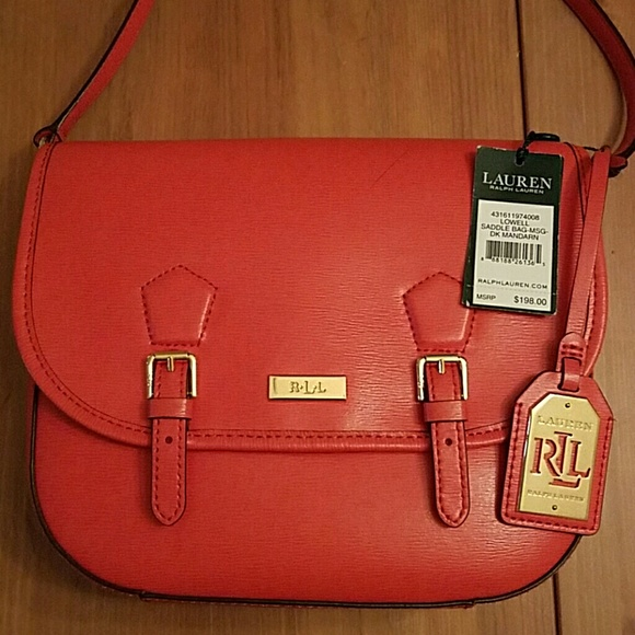ab1c928ed0ff Ralph Lauren Bags | Lowell Saddle Crossbody Bag | Poshmark