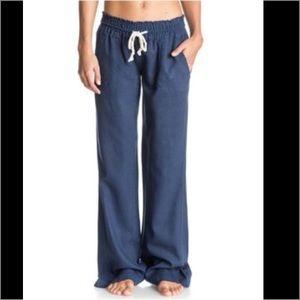 Roxy Pants - 🦋Roxy Chino's Oceanside drawstring Beach Pants