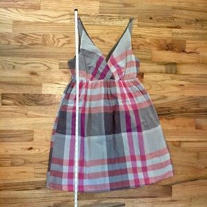 b3d166fe870 Old Navy Dresses - ⛱Plaid Old Navy fit and flare tank dress!