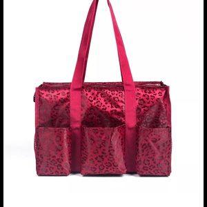 thirty one Handbags - 🍒New animal print leopard utility travel bag tote