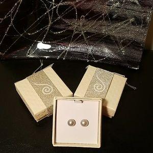 Honora Jewelry - ✅Honora Cultured Gray Pearl Stud Earrings🍦