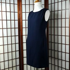 Adrianna Papell Dresses & Skirts - Blue Adrianna Papell Sleeveless Lined Shift Dress
