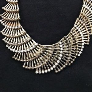 Jewelry - Gold Fan Necklace