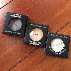 MAC Cosmetics Other - 3x NIB MAC Eyeshadows Discontinued