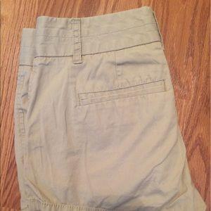 J. Crew Pants - Khaki Chino Shorts