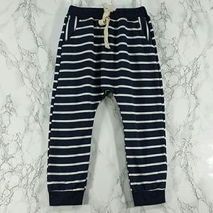 Other - Heather navy blue strips sweatpants. Kids