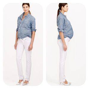 J. Crew Denim - J.Crew Matchstick Maternity Jeans White 28 NEW NWT