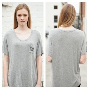 Brandy Melville Tops - Gray Brandy Melville Shirt