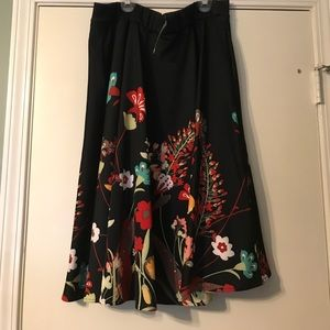 New York & Company Dresses & Skirts - Floral Knee Length Skirt. NWT