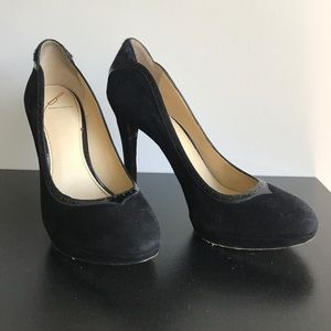 B Brian Atwood Shoes - B by Brian Atwood suede pumps size 8