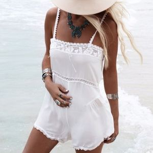 Spell & The Gypsy Collective Other - Spell &The Gypsy White Eyelet Romper