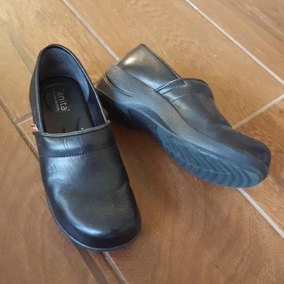 72% Off Sanita Shoes - HUGE PRICE DROP Sanita Black Clog ...