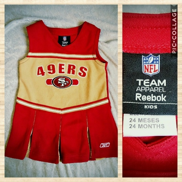 9edb4eb8 🌟SALE🌟NFL 49ers cheerleader dress for baby girl
