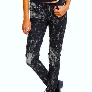 Tripp nyc Denim - Tripp acid washed splatter denim jeans Hot Topic
