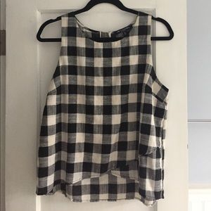 one clothing Tops - Gingham tank
