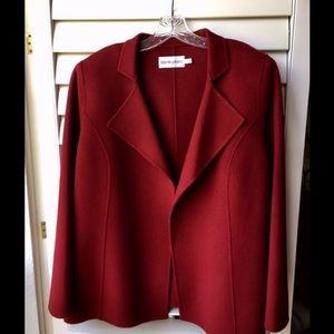 Bloomingdales size 14 wool jacket never used