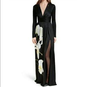 Altuzarra for target orchid black dress.