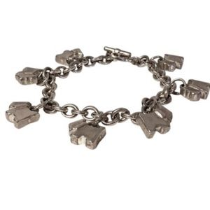 Agatha Ruiz De La Prada Jewelry - Agatha Chain Bracelet w/ Paris Scottie Dog Charms