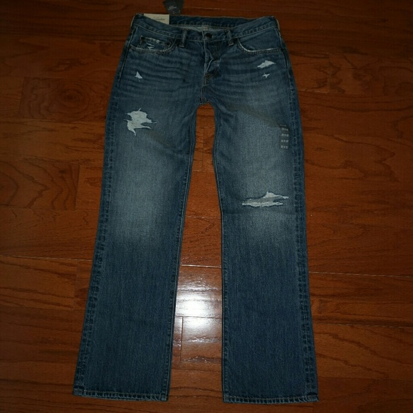 3f0c4e8da86 Abercrombie & Fitch Jeans | Mens Abercrombie Fitch Boot Cut Ripped ...