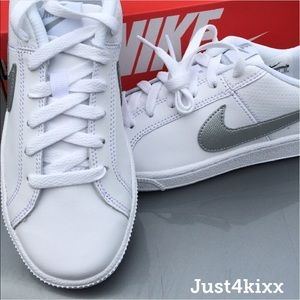 Nike Shoes - Women's Nike Classic with Silver Swoosh! ❤️❤️