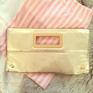 Lilly Pulitzer Gold Clutch