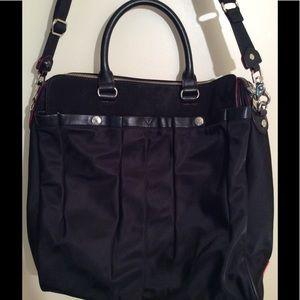 MZ Wallace Handbags - MZ WALLCE KINGSTON BLACK BEDORD MOTO TOTE MINT