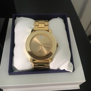 Movado Jewelry - Gold Movado Bold watch
