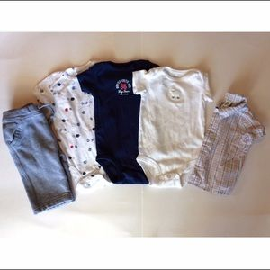 Baby Gap Other - Lot of 5 ⚡️SALE lowest⚡️Infant 6m Carters Baby Gap