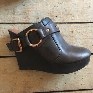 Matt Bernson Shoes - Matt Bernsen wedge clog slip-on Size 7